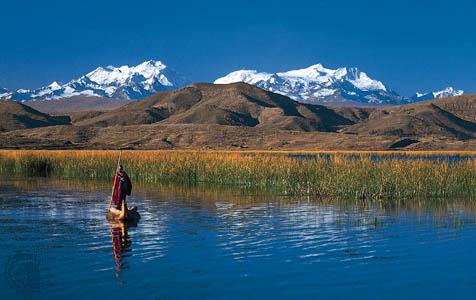 Titicaca Lake: Puno, Peru
